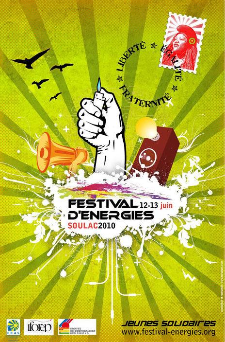 Affiche Festival des Energies 2010
